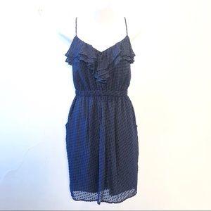 Shoshana Blue polkadot Dress